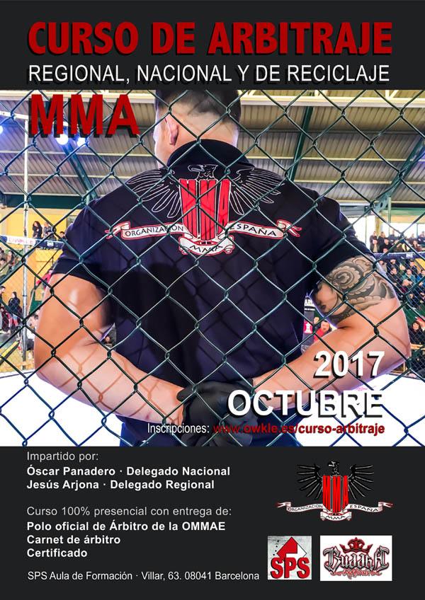 Curso Arbitro MMA p