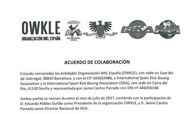 Acuerdo ISKA – OWKLE