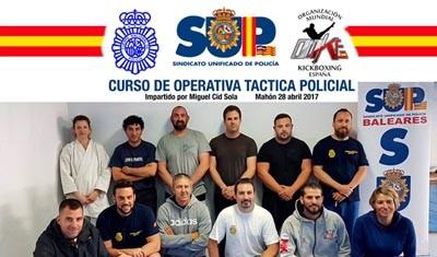 Curso Operativa Táctica Policial