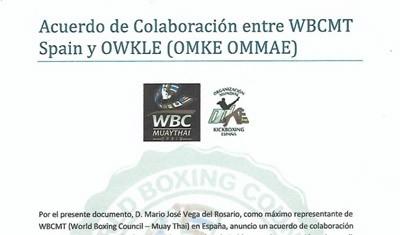Colaboración con la WBCMT